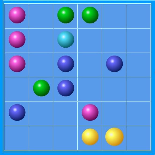 Цветные шарики играть бесплатно онлайн