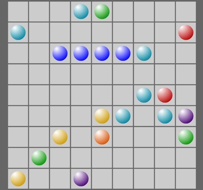 Шарики линии играть бесплатно онлайн