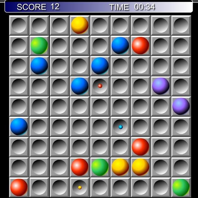 Цветные линии шарики играть бесплатно онлайн