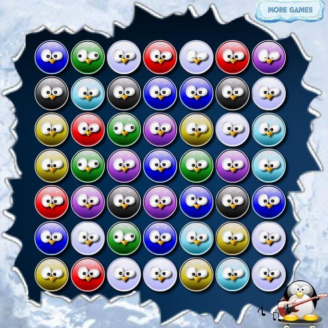 Шарики пингвины играть бесплатно онлайн