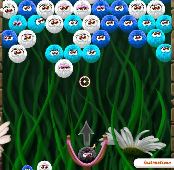 Пушистики шарики играть бесплатно онлайн