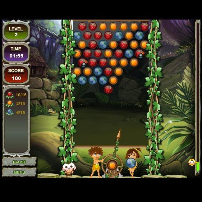 Ягодные шарики играть бесплатно онлайн